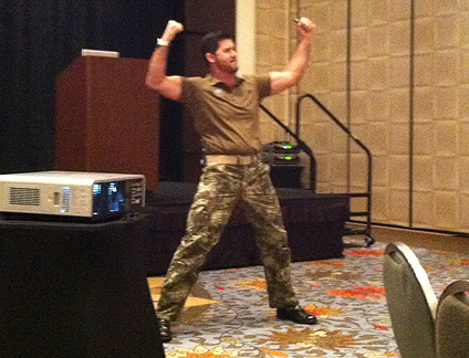 David Rutherford - Navy Seal speaks at DHI Dallas Texas 2014