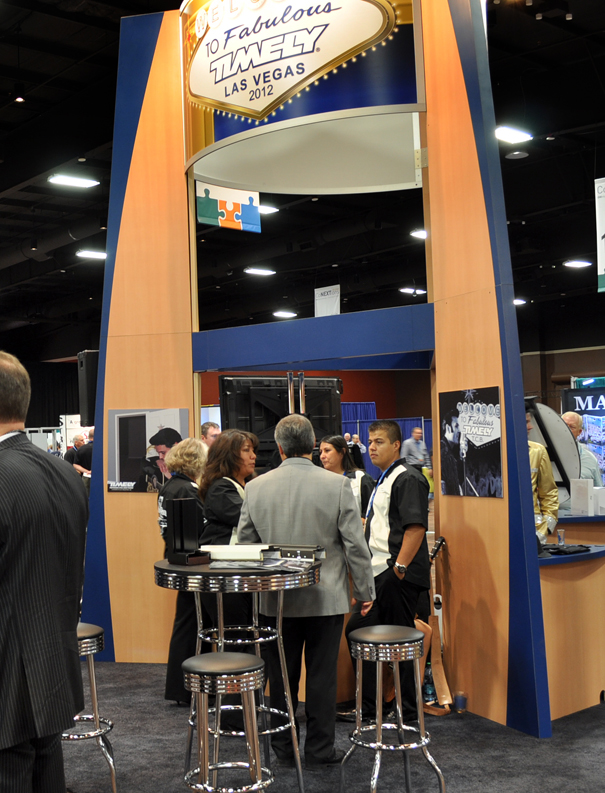 Trade Show Booth Visitors : Dhi las vegas trade show timely industries