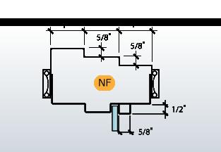 DE-Series Frame Profile (NF)
