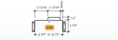 Adjustable - Frame Profile (54A)