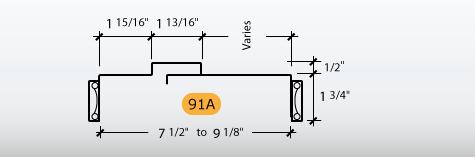 Adjustable - Frame Profile (91A)