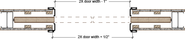 Pocket Door Trim Kit Plan Profile