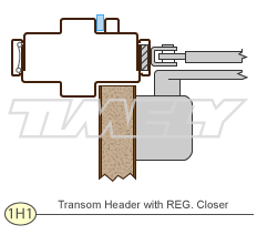 Details 1H1 Transom Header With REG. Closure