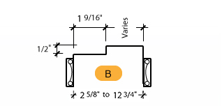Classic C-Series Frame Profile (B)