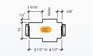 Classic C-Series Frame Profile (CC)