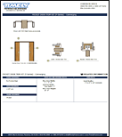 PDF Image Thumb Pocket Door Trim Kit - Converging