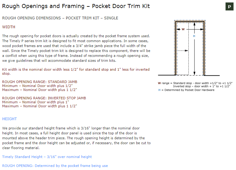 door openings rough openings and framing bi fold