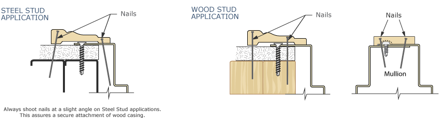 Wood Casing Attachment Graphic