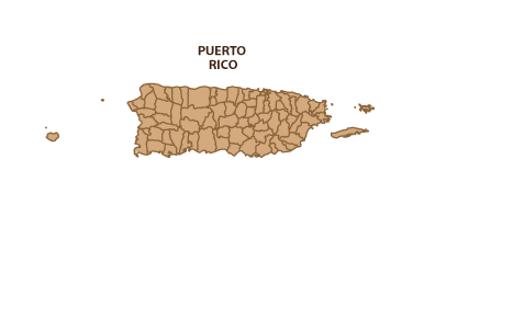 Map of Area Covered