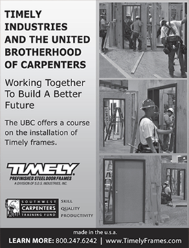Working Together - Timely and the United Brotherhood of Carpenters Ad