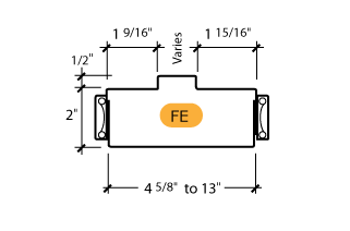 Classic C-Series Frame Profile (FE)