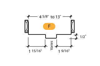 Classic C-Series Frame Profile (F)
