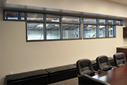 Timely Conference Room – Black Nickel Borrowed Light
