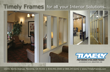Timely Frames Interior Solutions Ad