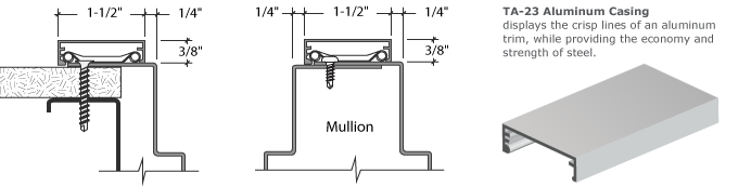 Timely Industries TA-23 Casing Drawing