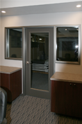 Timely Conference Room – Black Nickel Sidelights