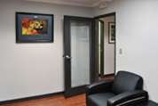 Timely Waiting Room – Black Nickel Frame