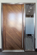 CMDNConference Room – Bright Stainless Frame